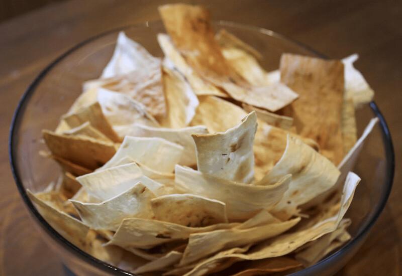 Рецепт чипсы из лаваша пошагово с