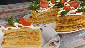 Торт из куриного филе 17 шаг