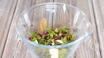 Салат с сырными шариками 10 шаг