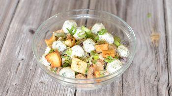Салат с сырными шариками 12 шаг