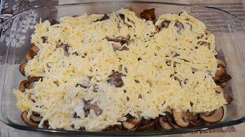 Гратен из картофеля с грибами 13 шаг