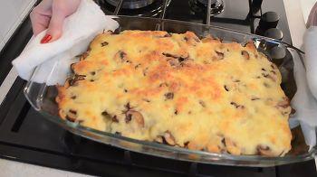 Гратен из картофеля с грибами 14 шаг