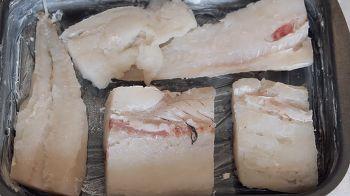 Гратен из картофеля с рыбой 1 шаг